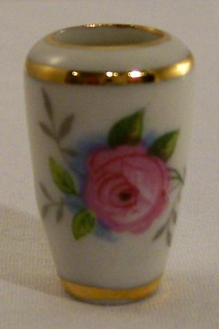 China Glass Limoges Miniatures Limoges Miniature Vase