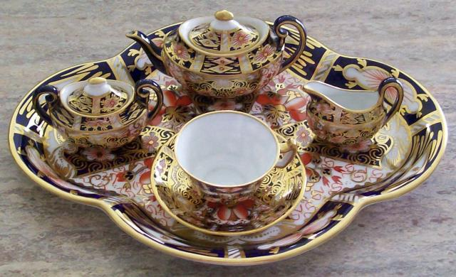 China Amp Glass Royal Crown Derby Miniatures Royal Crown