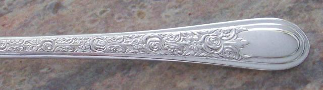 FORTUNE 1932 SALAD OR DESSERT FORK BY WALLACE BROS PLATE